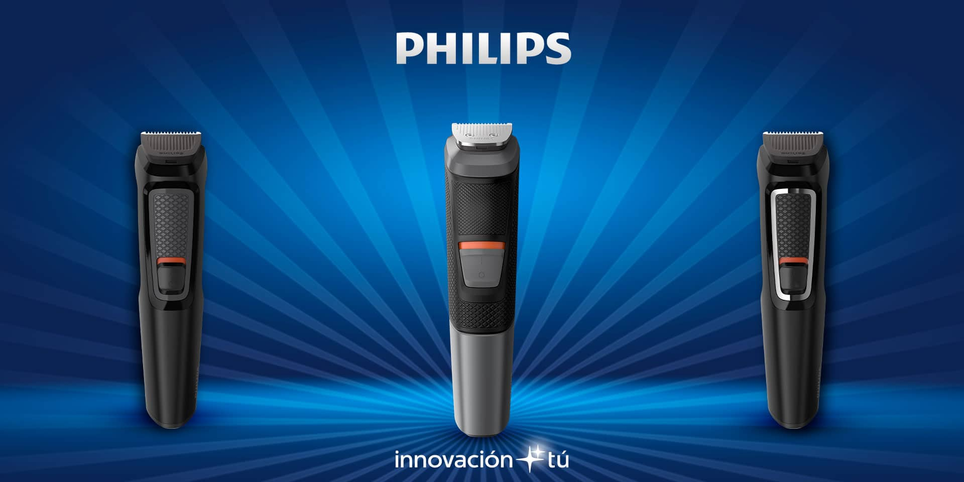 Afeitadoras Multigroom Philips